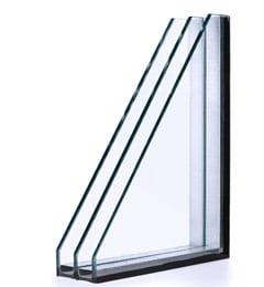 Detail hoogrendementsglas