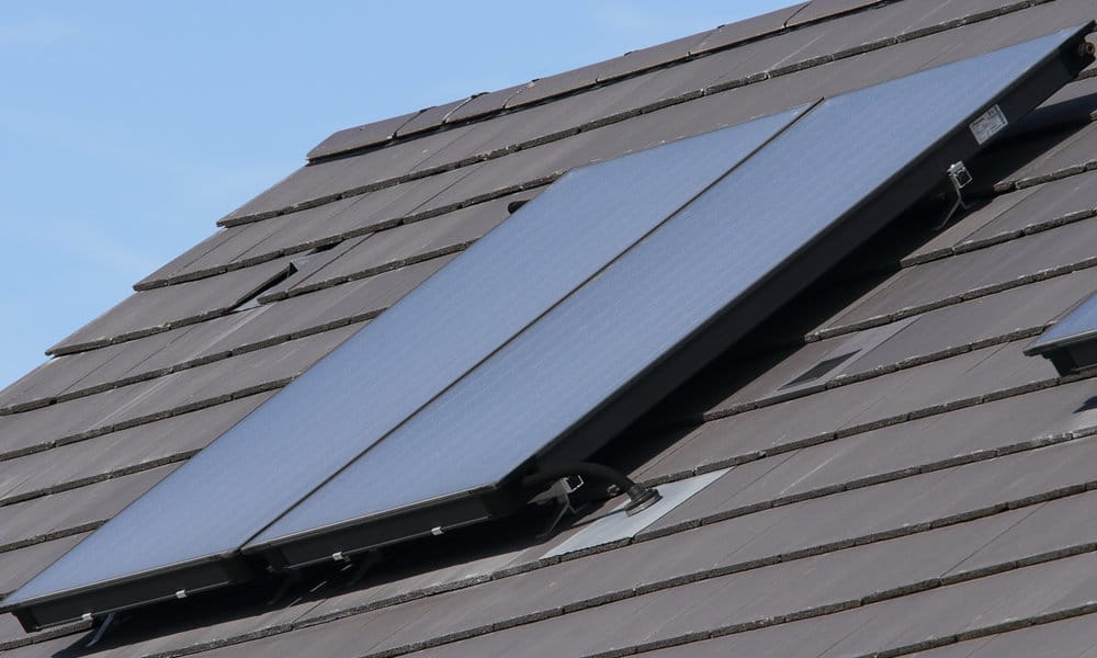 electrische verwarming zonnepanelen