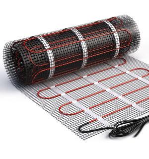 Vloerverwarming met matten