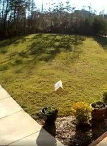 voorbeeld bewakingscamera opnamebeelden