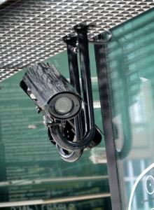 voorbeeld bewakingscamera overdekt