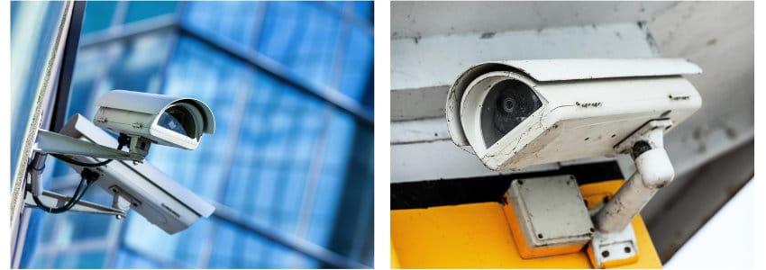 voorbeelden camerabewaking buiten
