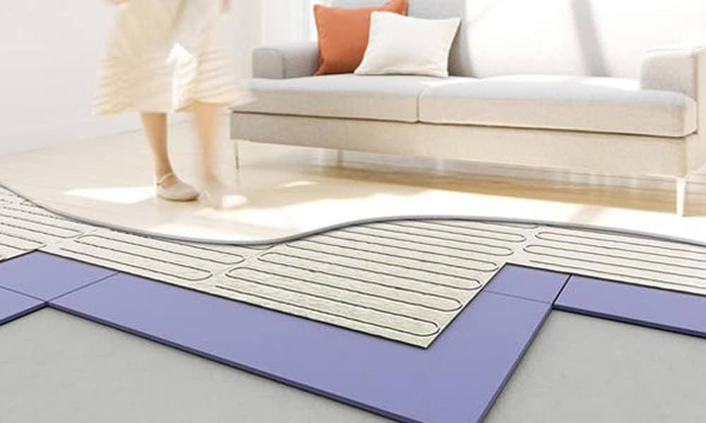 electrische vloerverwarming