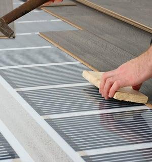 elektrische vloerverwarming folie