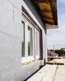 isolatieplaten voor plaatsing steenstrips