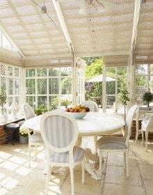 veranda in hout