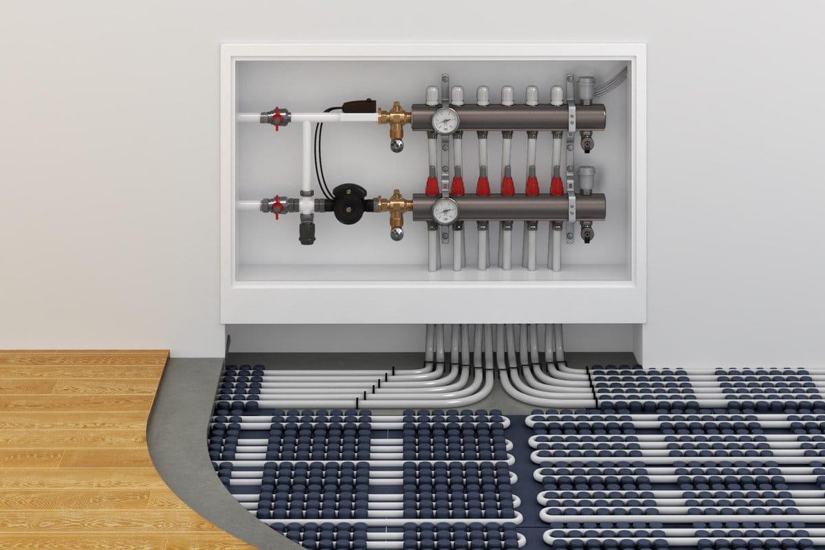 vloerbedekking voor vloerverwarming