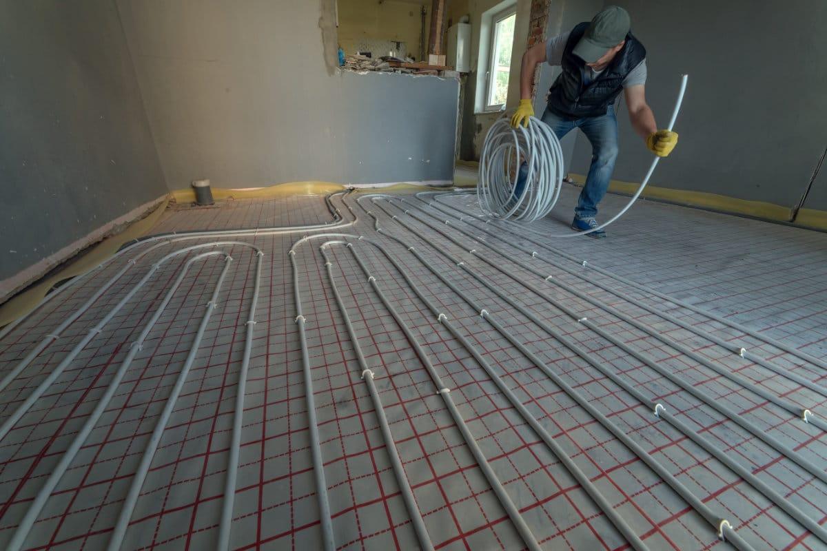 Vloerverwarming leggen werkwijzen en kostprijs