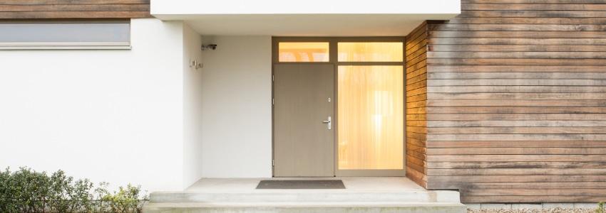 voordeuren met hout